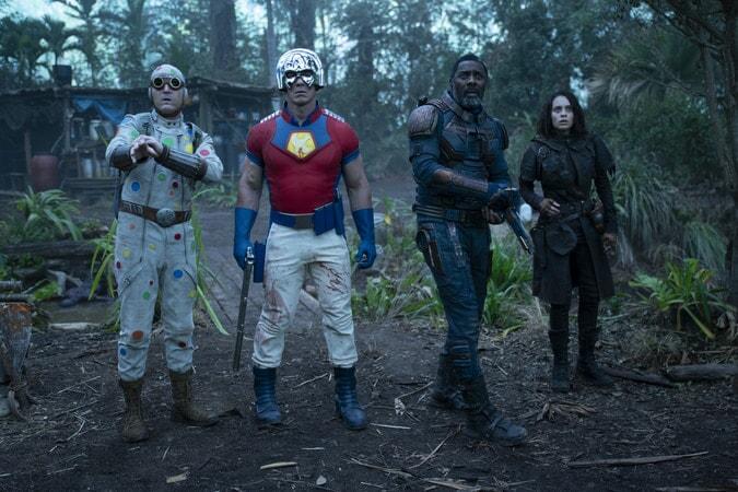 David Dastmalchian, John Cena, Idris Elba y Daniela Melchior, parte de El Escuadrón Suicida. WARNER
