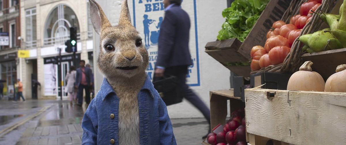 'Peter Rabbit 2: A la fuga'.  Si te etiquetan, te puedes volver así