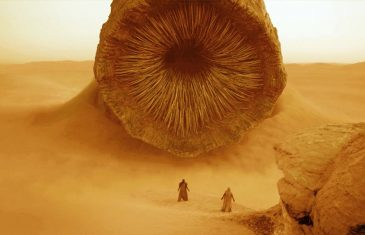 Uno de los gigantescos gusanos de arena de Dune