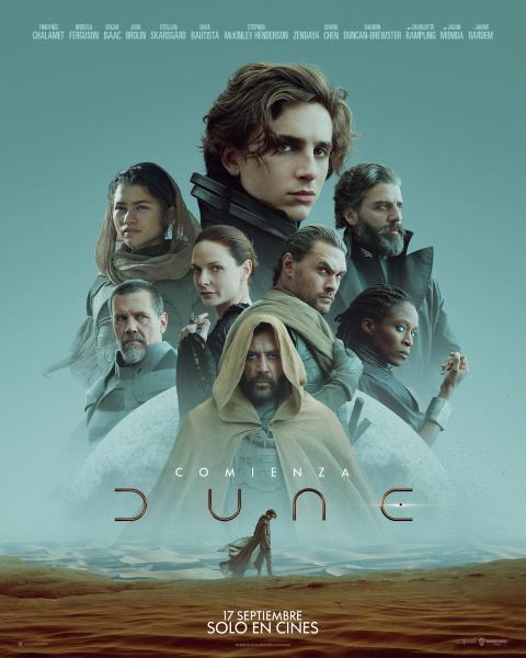 Póster español de Dune