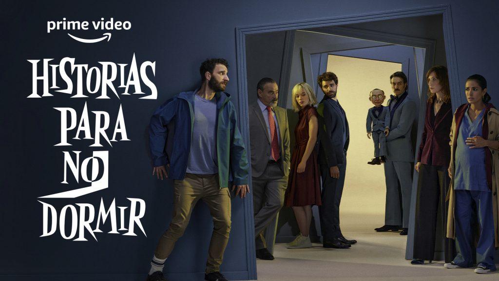 Cartel anuncio Historias para no dormir. PRIME VÍDEO