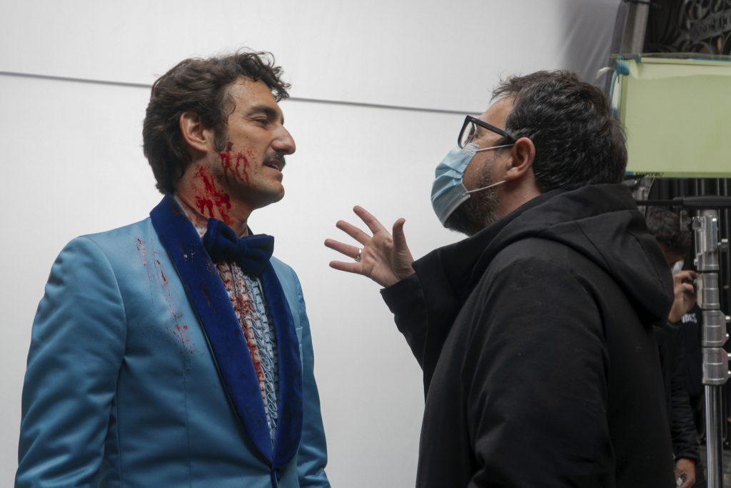 Paco Plaza (d) es el director de Freddy. PRIME