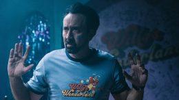Nicolas Cage protagoniza Willy's Wonderland. MOVISTAR+